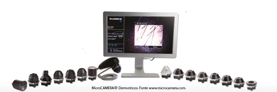 Nella foto, la MicroCAMERA® Dermotricos. Fonte www.microcamera.com.